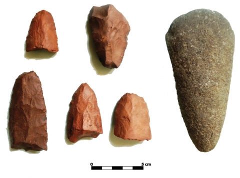 Figure 10 – Gouge and polished axes