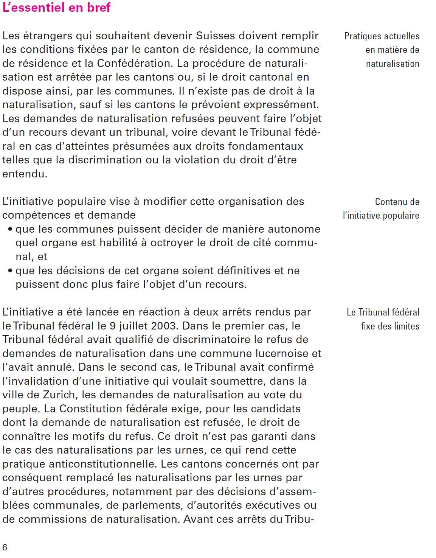 exemple de lettre recours gracieux pour refus de naturalisation Phénomènes énonciatifs et argumentation dans les brochures du  exemple de lettre recours gracieux pour refus de naturalisation