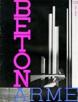 Couverture de la revue Béton armé (avril 1933)