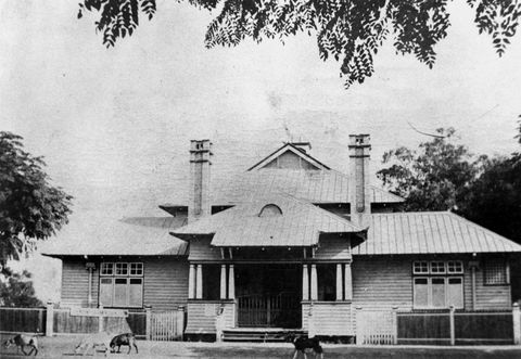 Figure 5: Courthouse at Charleville (1897, attributed to JS Murdoch), Charleville, c.1916.
