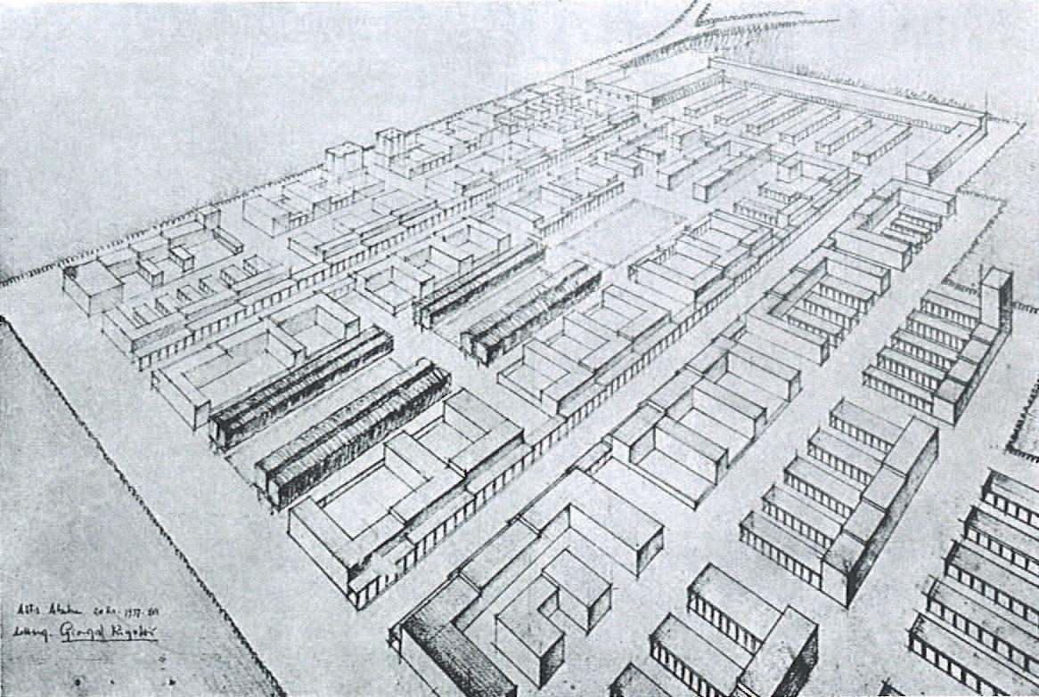 Plan D Une Case Africaine a city shapeddiplomacy