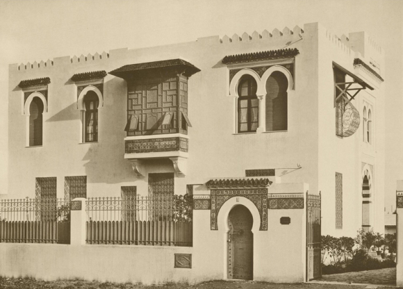Figure 10 : Tunis, Villa Zaouche, Façade Principale.