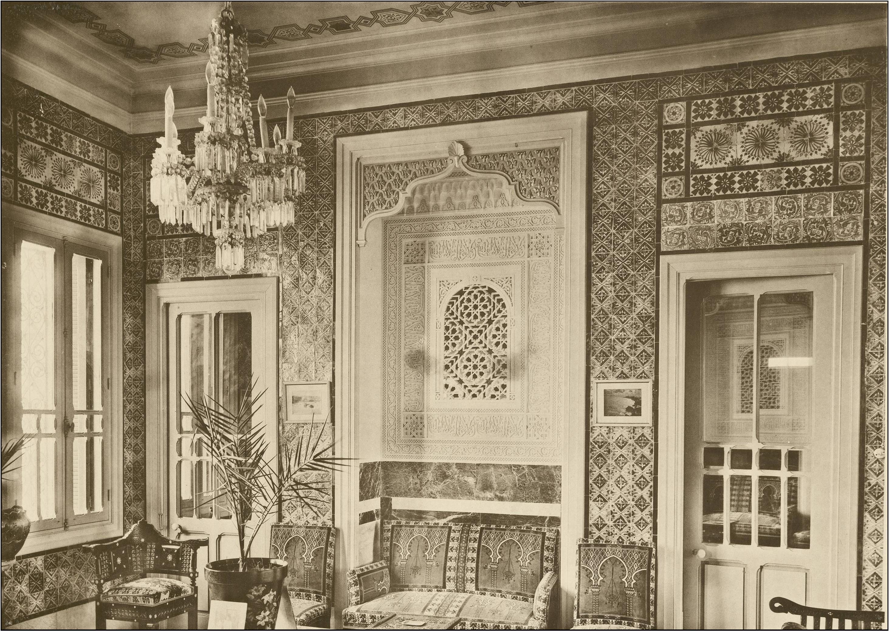 Fabrication D Escalier En Tunisie l'orientalisme architectural en tunisie : œuvre et carrière