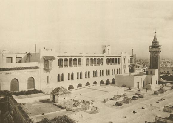Figure 2 : Tunis, Direction Des Travaux Publics, 1906, Vue De La Façade