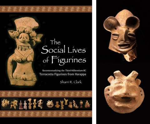 Fig. 1. The Social Lives of Figurines ; Fig. 2. Harappan feline head and Harappan mask, ca. 2400 B.C.E.