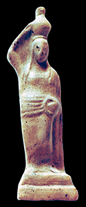 Fig. 2. A hydrophoros from the collection of the Aydın Museum. Inv. no. 562. Mid-fourth century B.C.E.