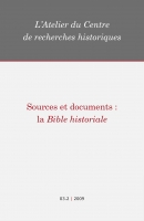 Couverture Sources et documents : la Bible historiale