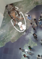 Global History Collective Summer School participants scattered all over the map at Hokaido Museum in Japan