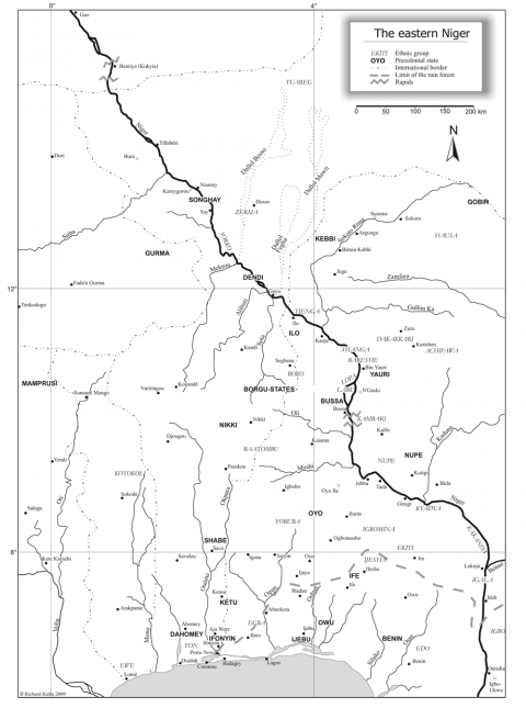 bentyia kukyia a songhay mande meeting point and a missing link Niger Geography figure 5 the eastern niger