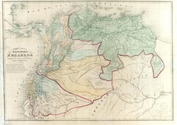 Territorio nacional, cartografía y poder en la Nueva Granada ...