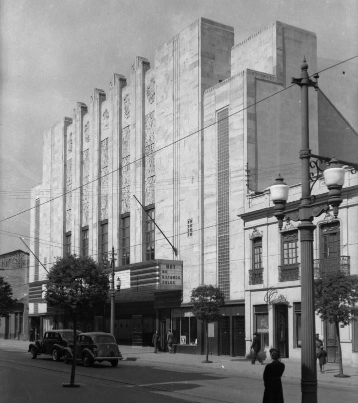 Salas De Cine En Bogot 1897 1940 La Arquitectura Como Smbolo De
