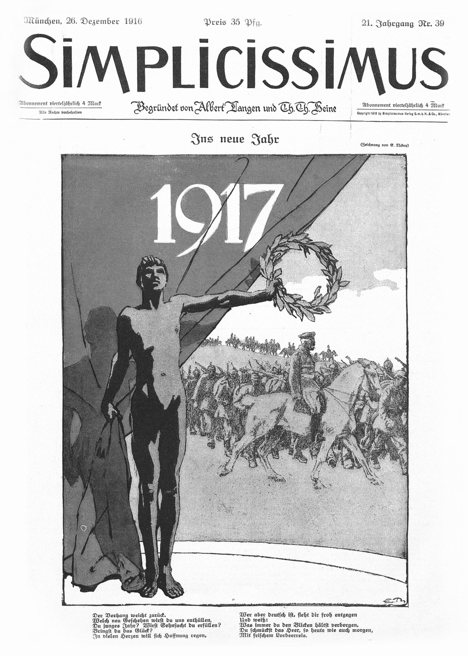 2b9f260c1566 Mourir et résister   le paradoxe 1917 dans l hebdomadaire satirique ...