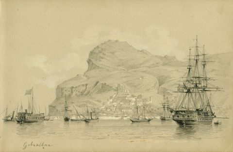 Fig. 6 : Dessin no16 : Gibraltar