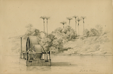 Fig. 8 : Dessin no21. Fort de France. (Martinique)