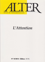 couverture du n°18 - 2010, L'Attention