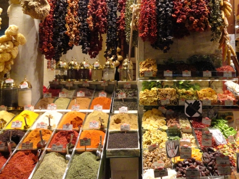 Illustration 1: Spice Market in Istanbul