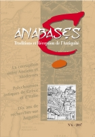 Couverture Anabases6