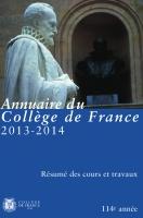 Couverture Annuaire 114e année