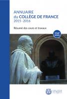 Couverture Annuaire 116e année