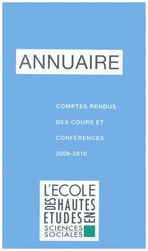 annuaire 2009
