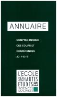Couverture Annuaire 20114-2012
