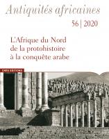 Couverture de Antiquités africaines 56   2020