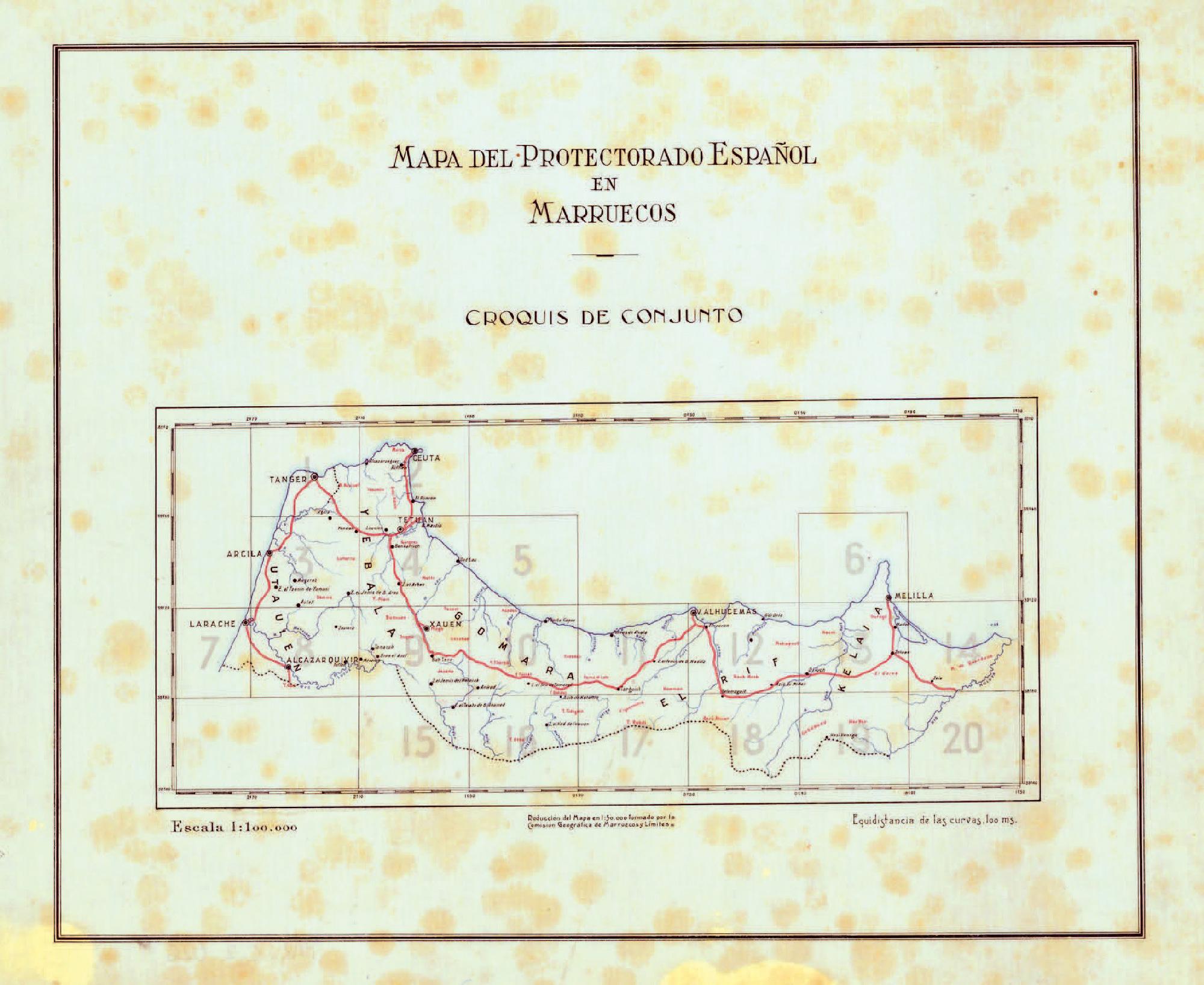 Fine Lavori Cila Roma gli itinerari terrestri della regione del rif (marocco