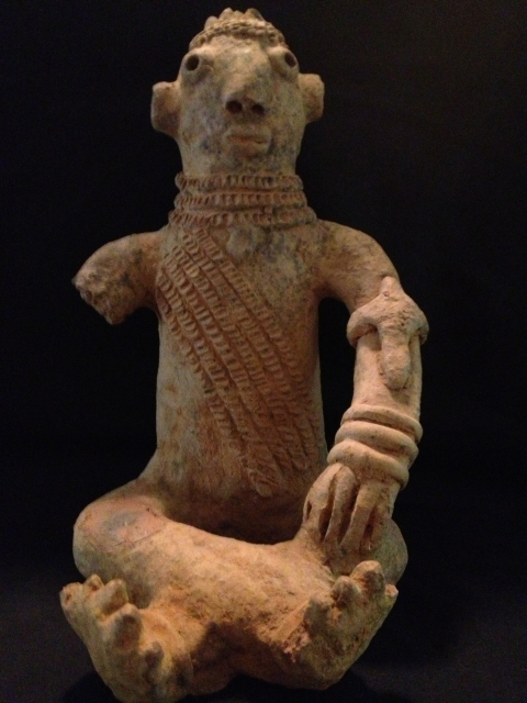 An Old Bura Reliquary Figure