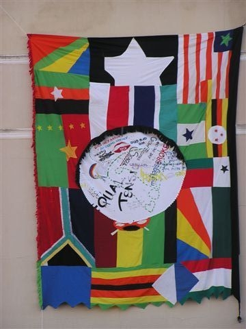 Figure 13: Flag by Patrick Tagoe-Turkson from Ghana