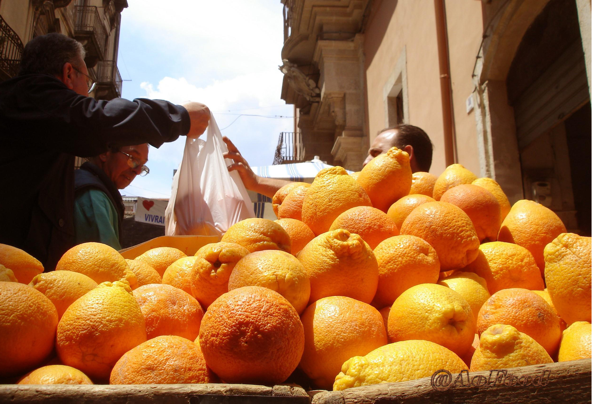 The Significance Of Landscape In A Sicilian Food Market