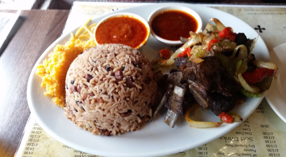 Ghanaian cuisine entering the cosmopolitan stage – the role