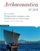 Couverture de Archaeonautica 20 | 2018