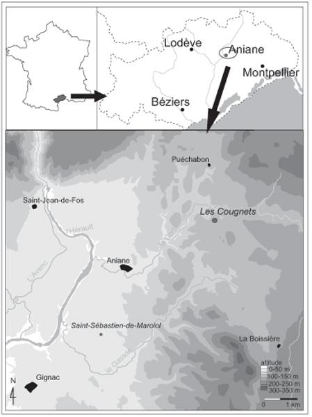 Le Site Des Cougnets Hérault Un Habitat Pastoral Des