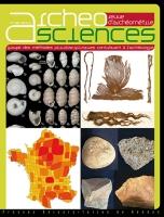 Couverture Archeosciences 39