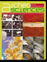couverture AcheoSciences 43-1