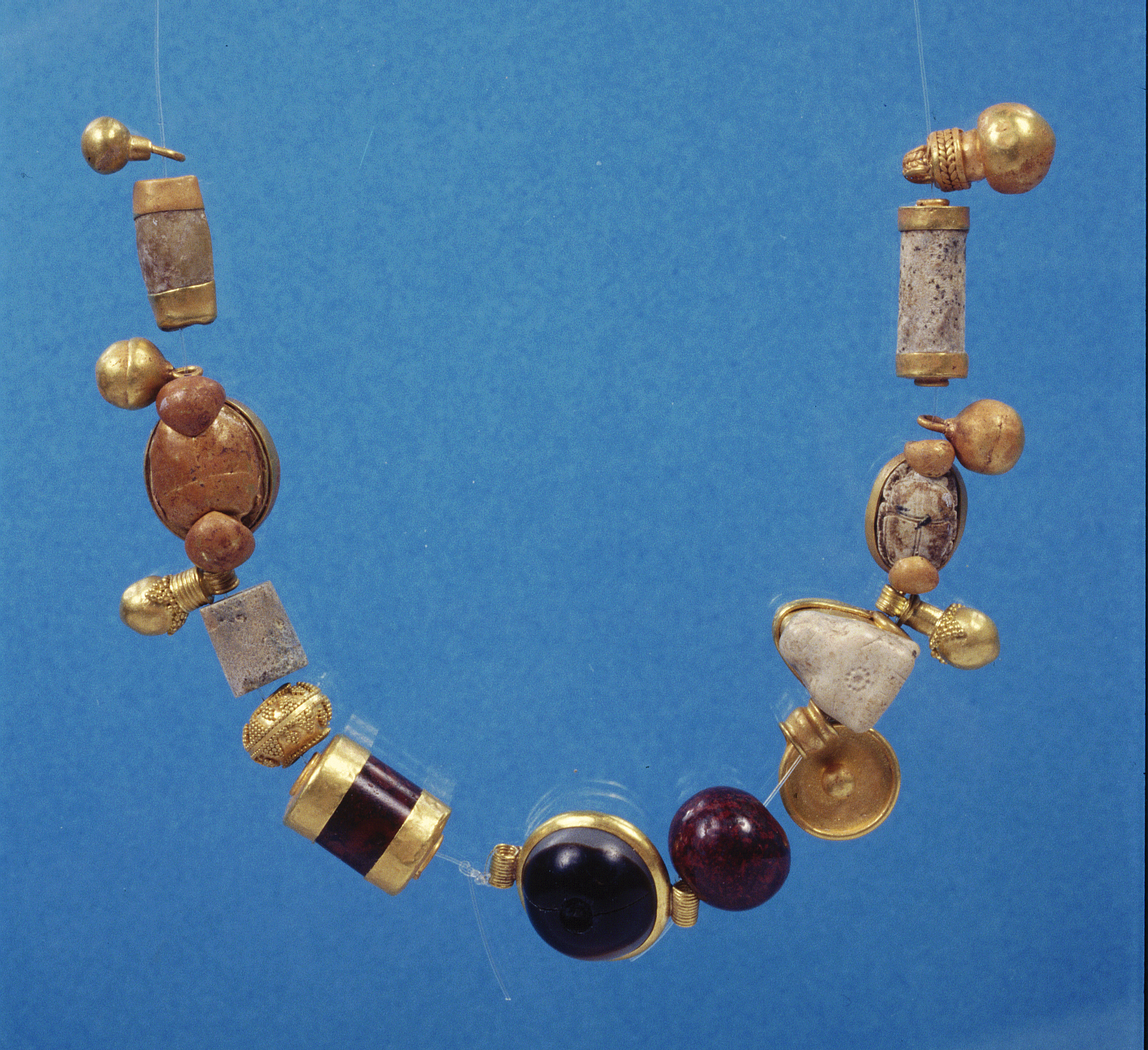 The Phoenician Gold Jewellery From Kition Cyprus