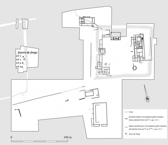 L Artisanat Du Fer Dans La Villa De Touffreville Calvados A L Epoque Augusto Claudienne Approches Archeometallurgique Et Archeometrique