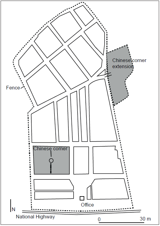 the chinese cemeteries in the philippines immobile spaces Training Resume map 2 the chinese corner and its extension in the lingsat cemetery san fernando