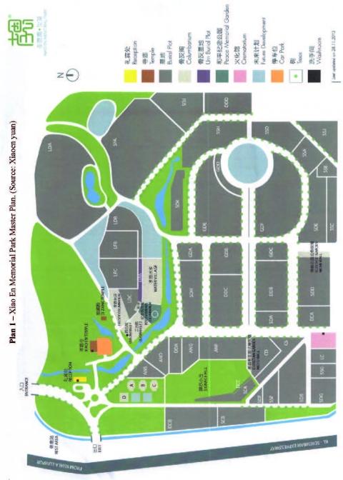 Plan 1 U2013 Xiao En Memorial Park Matser Plan