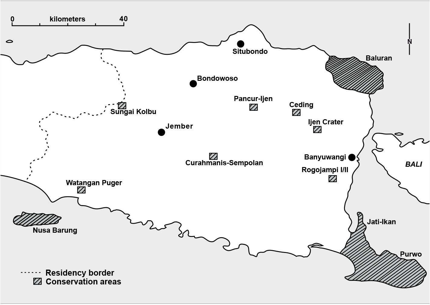 Nature Conservation in a Frontier Region of Java during the Colonial