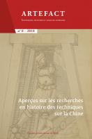 Couverture de Artefact, n° 8 | 2018