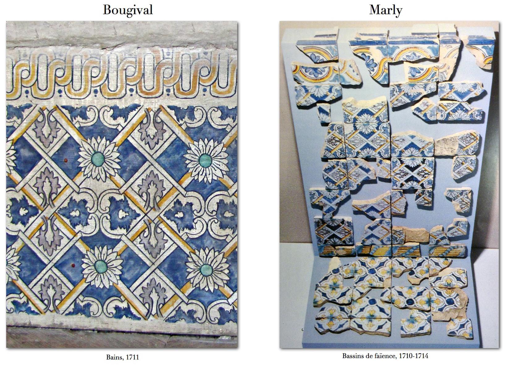 Le carrelage peint : imitation ou adaptation des carreaux de faïence ?