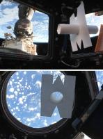 Eduardo Kac, Télescope Intérieur (Inner Telescope) flottant dans la Station spatiale internationale (ISS), en orbite autour de la Terre