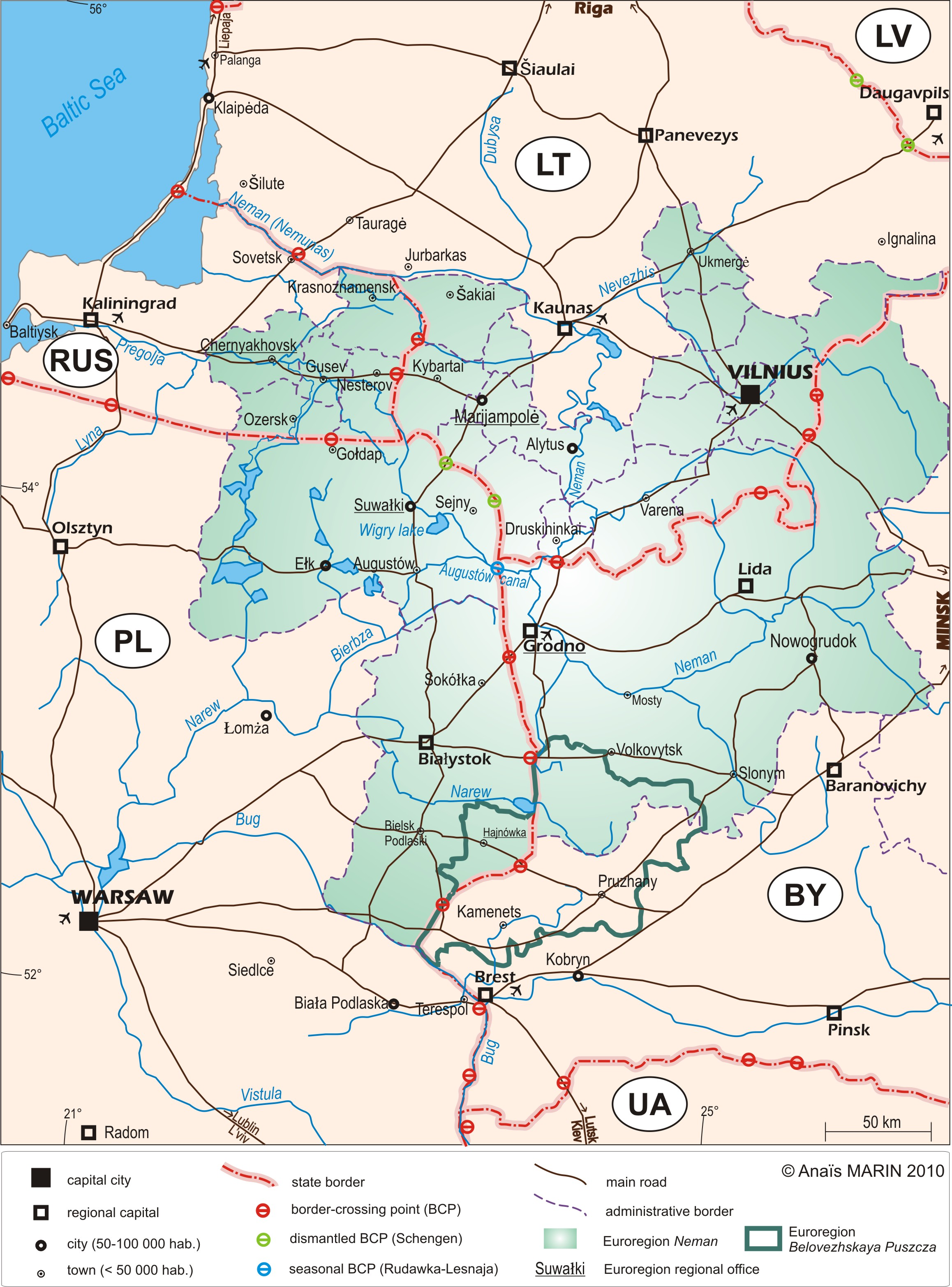 From breach to bridge: the Augustów canal, an ecotourism