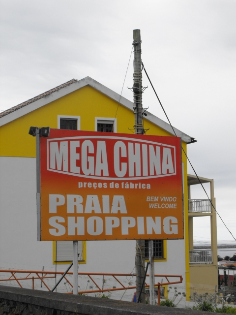 Figure 2. Chinese store in Praia, Azores Islands, Portugal