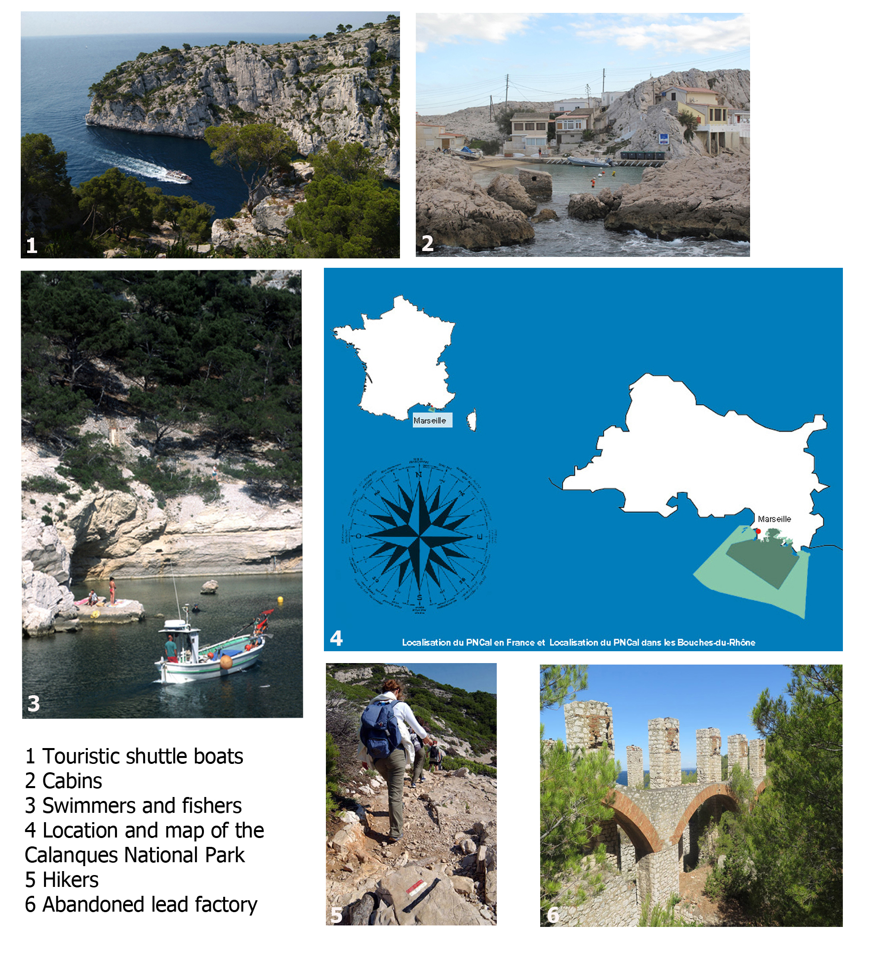 The Calanques National Park, between environmental effort and urban