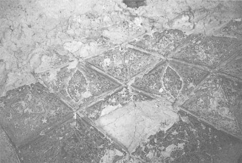 Fig. D – Ghazni, tomb of Mohammad Sharif Khan (second half of the 16th century), detail of zone of transition