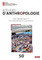 Couverture d'Ateliers d'anthropologie, 50|2021