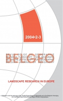 Landscape research in Europe