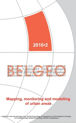 Mapping, monitoring and modelling of urban areas